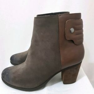 CLARKS Taupe Suede Boot Size US9.5M NWT.RRP$229.95
